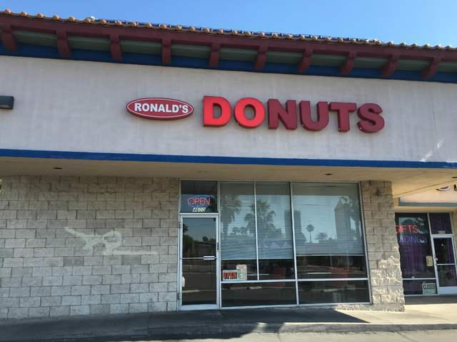 The exterior of Ronald's Donuts is seen at 4600 Spring Mountain Road May 23, 2016. Sandy Lopez/View