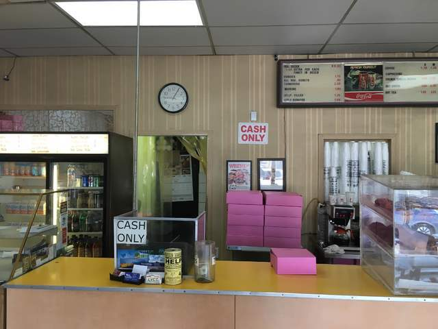 The interior of Ronald's Donuts is seen at 4600 Spring Mountain Road May 23, 2016. Sandy Lopez/View