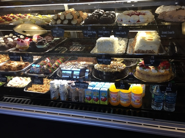 A case full of pastries is shown at Kneaders Bakery & Cafe in Henderson. Michael Lyle/View