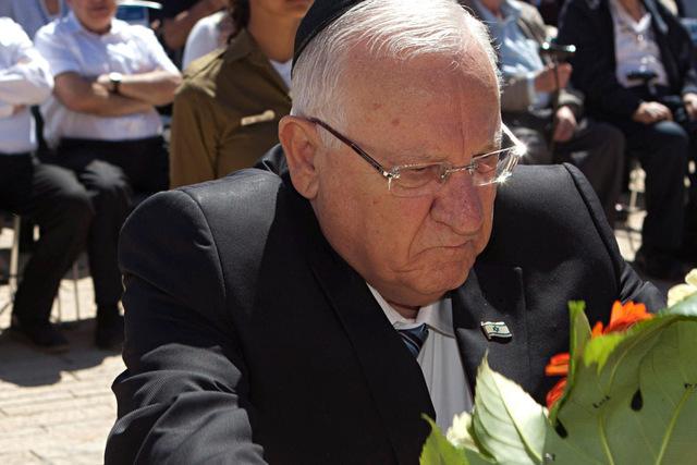 Israeli President Reuven Rivlin. (Dan Balilty/Reuters)