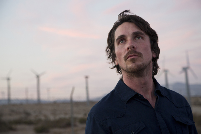 "Christian Bale stars in ""Knight of Cups."" (Melinda Sue Gordon / Broad Green Pictures)"