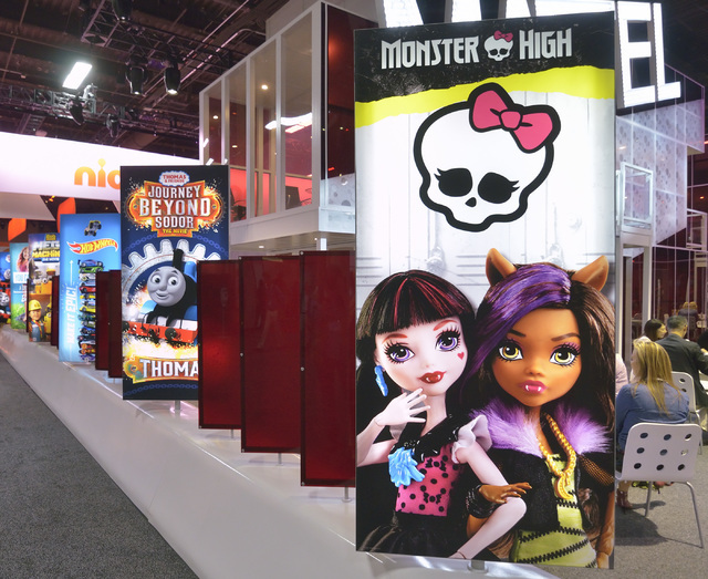 Part of the Licensing Expo is shown at the Mandalay Bay Convention Center in Las Vegas on Tuesday, June 21, 2016. Bill Hughes/Las Vegas Review-Journal