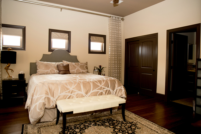 There is only one guest bedroom in the home. (TONYA HARVEY/REAL ESTATE MILLIONS)