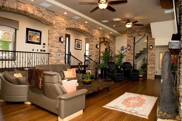 The great room. (TONYA HARVEY/REAL ESTATE MILLIONS)