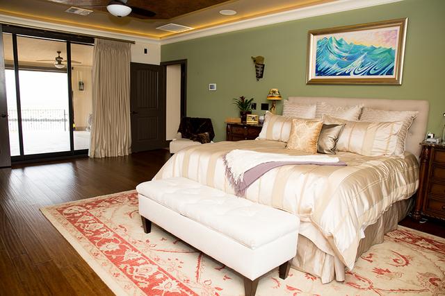 Master bedroom. (TONYA HARVEY/REAL ESTATE MILLIONS)