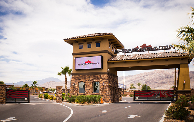Spring Mountain Motor Resort & Country Club is a racing destination in Pahrump. (TONYA HARVEY/REAL ESTATE MILLIONS)