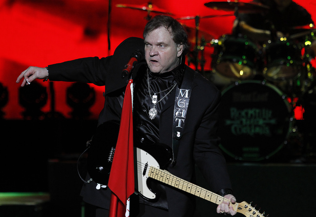 Meatloaf performs at Planet Hollywood in Las Vegas on Oct. 3, 2013. (Jason Bean/Las Vegas Review-Journal)