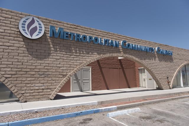The Metropolitan Community Church is shown at 1140 Almond Tree Lane,  No. 305, in Las Vegas, is seen Sunday, June 12, 2016. (Jason Ogulnik/Las Vegas Review-Journal)