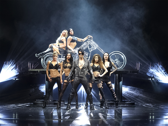 Criss Angel's production. (Courtesy)