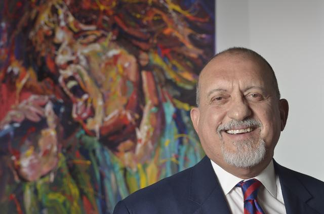 Attorney Dominic Gentile is shown at Gentile, Cristalli, Miller, Armeni, Savarese at 410 S. Rampart Blvd. in Tivoli Village in Las Vegas on Monday, June 27, 2016. Bill Hughes/Las Vegas Review-Journal
