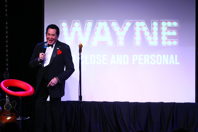 "Wayne Newton sings during his show ""Up Close And Personal"" on Thursday, June 16, 2016 at the Bally's hotel-casino in Las Vegas. Loren Townsley/Las Vegas Review-Journal Follow @lo ..."