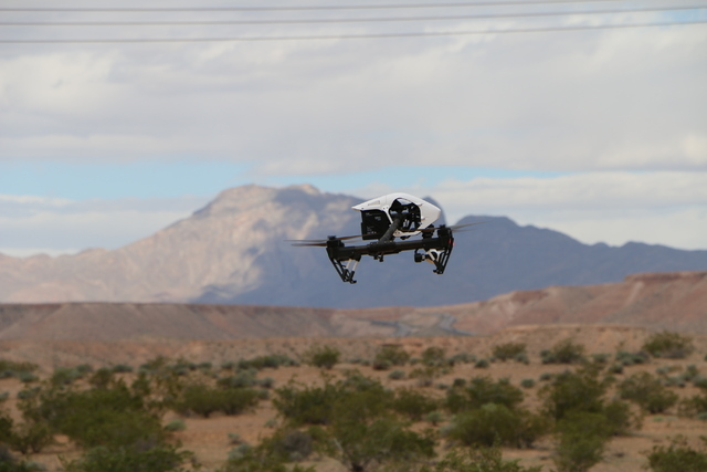The Nevada Institute for Autonomous Systems, partnering with Embry-Riddle, conducted UAS flight operations March 21 and 22, 2016 at a dedicated UAS test range over uninhabited desert near Mesquite ...