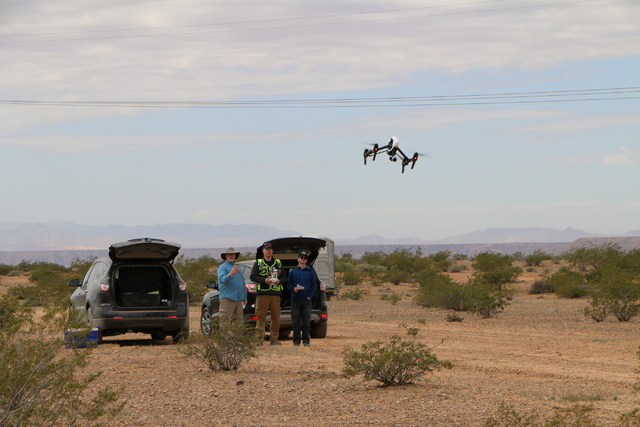 The Nevada Institute for Autonomous Systems, partnering with researchers from Embry-Riddle, conducted UAS flight operations March 21 and 22, 2016 at a dedicated UAS test range over uninhabited des ...