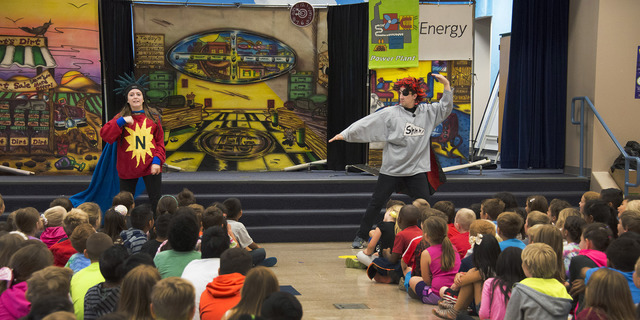 Powershift by NV Energy is partnering with the National Theatre for Children to present The Energized Guyz, an in-school performance program designed to educate students on energy conservation. A  ...