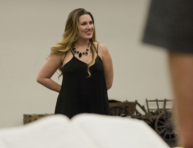 "Suzanne Vinnik rehearses her role for this weekend's Opera Las Vegas production of ""Carmen,"" which brings the Las Vegas native back to Southern Nevada. Daniel Clark/Las Vegas Review-Journal Follow ..."