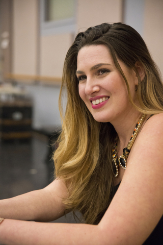 "Soprano (and Las Vegas native) Suzanne Vinnik discusses her singing career, which includes a role in Opera Las Vegas' production of ""Carmen"" this weekend at UNLV's Judy Bayley Theatre. Daniel Clar ..."