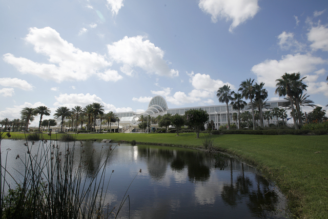 The Orange County Convention Center is seen in Orlando, Fla., on Thursday, June 16, 2016. (Rachel Aston/Las Vegas Review-Journal) Follow @rookie__rae