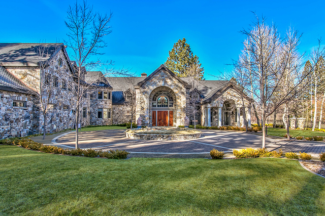 This Lake Tahoe's equestrian property, know as Sierra Sunset, is listed for $59 million. (COURTESY)