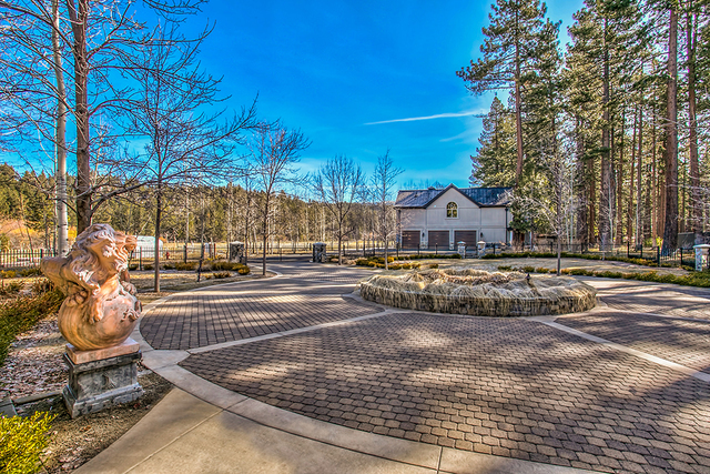 The estate sits on 31 acres nestled against the eastern shore of Lake Tahoe. (COURTESY)