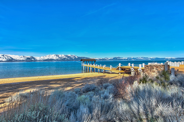 Sierra Sunset is an equestrian property with lake-front amenities. (COURTESY)