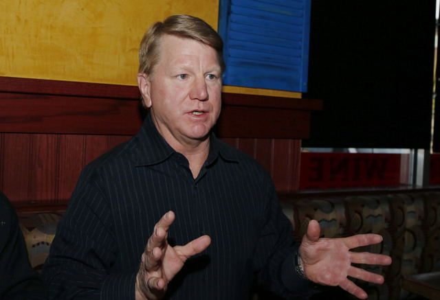 Jim Marchant hopes to run against Assemblyman John Hambrick, R-Las Vegas, in a potential recall election for the Assembly District 2 seat, Thursday, Feb. 19, 2015. (Bizuayehu Tesfaye/Las Vegas Rev ...