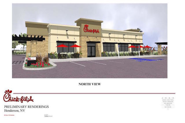 A rendering of Chick-Fil-A Henderson (Courtesy Chick-Fil-A)