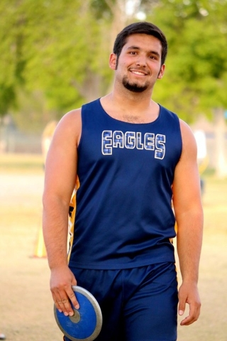 After breaking a 30-year-old discus record with a throw of 189-11, Sam Gomez, who was also one of four valedictorians at Boulder City High School in 2016, is ready to tackle the next phase in his  ...