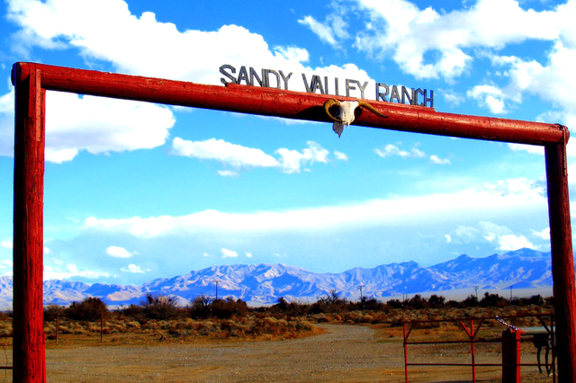 Sandy Valley Ranch, about 45 miles from Las Vegas, welcomes visitors year-round. (Courtesy)