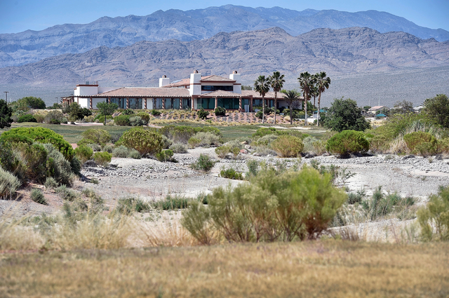 The now closed Silverstone Golf Club clubhouse is seen Monday, May 23, 2016, in Las Vegas. (David Becker/Las Vegas Review-Journal) Follow @davidjaybecker
