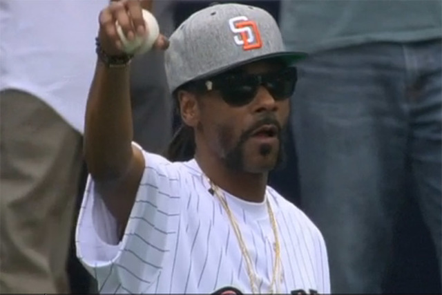 Snoop Dogg (MLB.com)