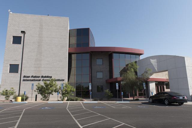 The Stan Fulton Building at UNLV in Las Vegas is seen Thursday, June 23, 2016. (Jason Ogulnik/Las Vegas Review-Journal)