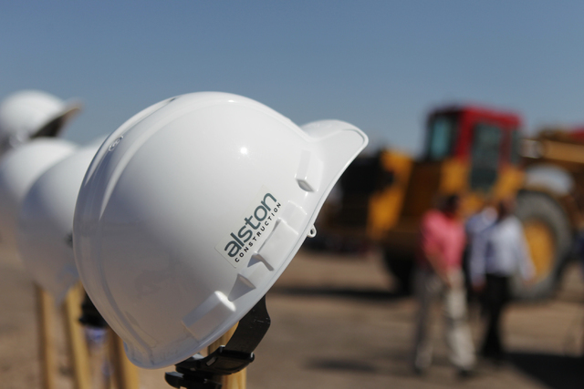 Alston Construction is the contractor on a 482,300 square-foot industrial building on a 28-acre parcel located on Executive Airport Drive in Henderson that's being developed by Panattoni Developme ...