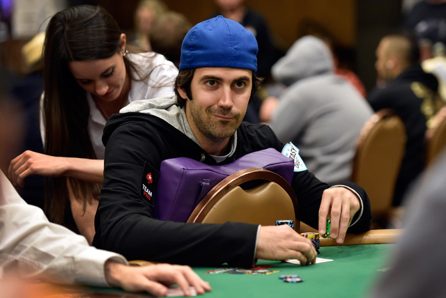 Jason Mercier, shown during the 2015 World Series of Poker Main Event, won the $10,000 buy-in No-Limit 2-7 Lowball Championship on Monday night at the Rio Convention Center. It was Mercier's fourt ...