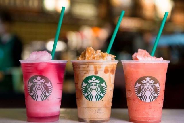 Starbucks introduces its new Sunset Menu, an Italian ice-inspired selection of treats and mini desserts. (Starbucks)