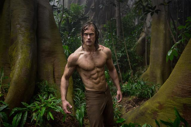 "Alexander Skarsgard as Tarzan in ""The Legend of Tarzan."" (Warner Bros.)"