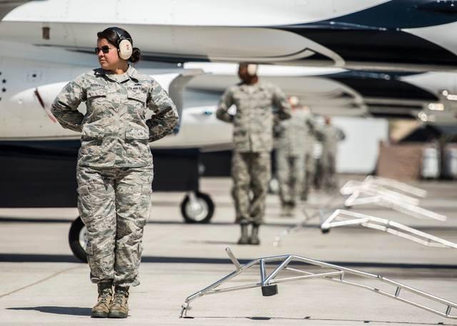 June 7, 2016. Photo courtesy of the U.S. Air Force Thunderbirds.