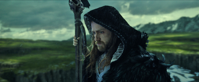"""Magical guardian Medivh (BEN FOSTER) must protect Azeroth at all costs in Legendary Pictures and Universal Pictures' """"Warcraft."""" (Legendary Pictures, Universal Pictures and ILM)"""