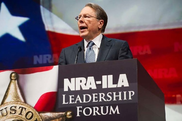 NRA Executive Vice President and Chief Executive Officer Wayne LaPierre
