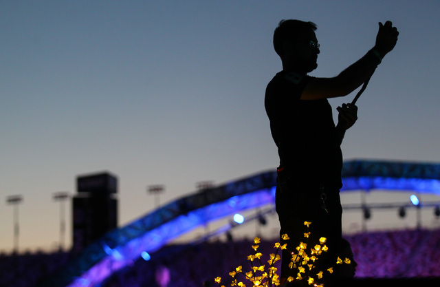 A man records a video at the Kinetic Field stage at Electric Daisy Carnival at the Las Vegas Motor Speedway in Las Vegas on Sunday, June 21, 2015. (Chase Stevens/Las Vegas Review-Journal) Follow C ...