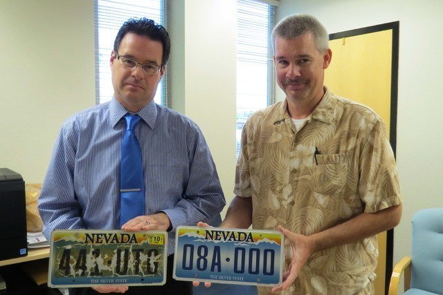 Replacement nevada license plates won t require dmv visit for Department of motor vehicles carson city nevada