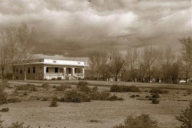 Kiel Ranch Park Mansion c. 1984 (UNLV Library Special Collections)