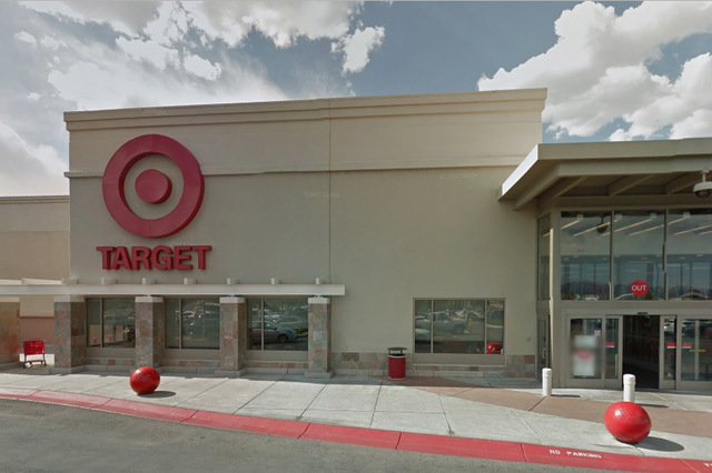 Police are investigating a shooting that happened at Target at 4100 Blue Diamond Road on Thursday, June 16. (Google)