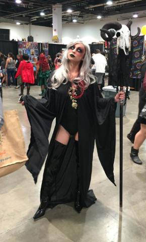 Fans attend the fourth annual Amazing Las Vegas Comic Con at the Las Vegas Convention Center on Saturday, June 18, 2016. (Ashley Casper/Las Vegas Review-Journal)