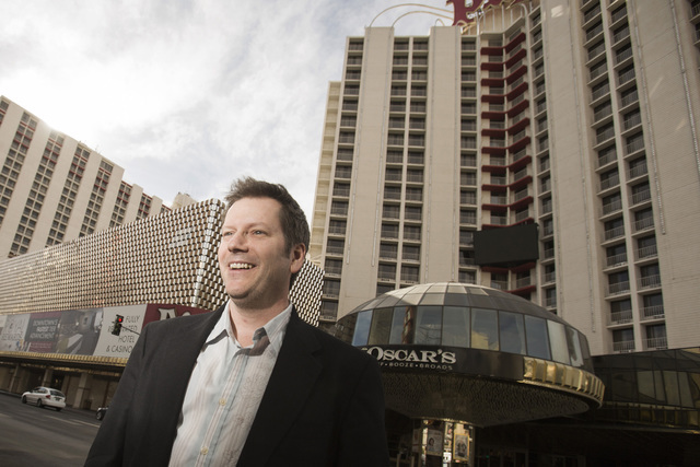 Wranglers President Billy Johnson as seen in front of the Plaza hotel/casino on Monday, Feb. 17, 2014. (Jeff Scheid/Las Vegas Review-Journal)