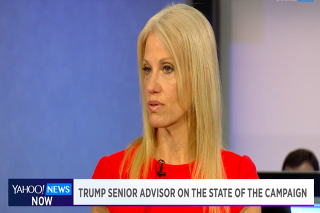 Donald Trump senior advisor Kellyanne Conway talks to Katie Couric about the impact of female voters in the presidential race. (Yahoo/Inform)