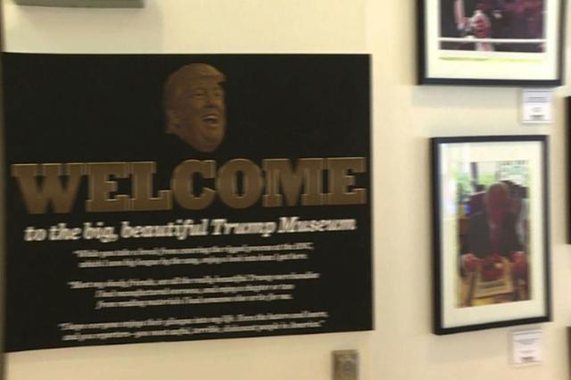 """Democrats skewer Trump's past in Cleveland """"museum"""" (AFP/Inform)"""