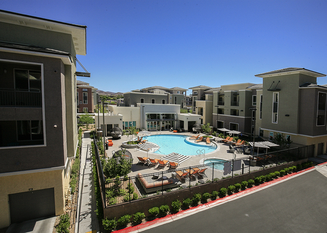The Elysian at the District. (Elke Cote/RJRealEstate.Vegas)