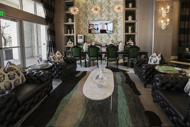 The main office at The Elysian at the District in Henderson. (Elke Cote/RJRealEstate.Vegas)