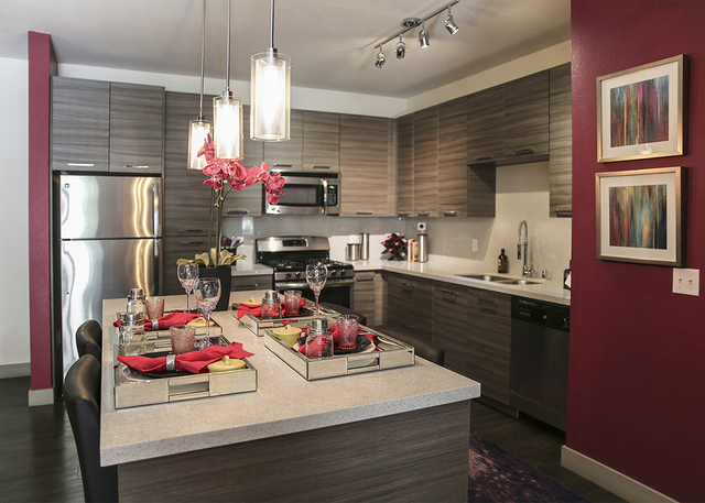 Henderson luxury apartment complex builds wellness units for The model apartment review