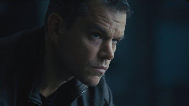 Matt Damon as Jason Bourne (courtesy)